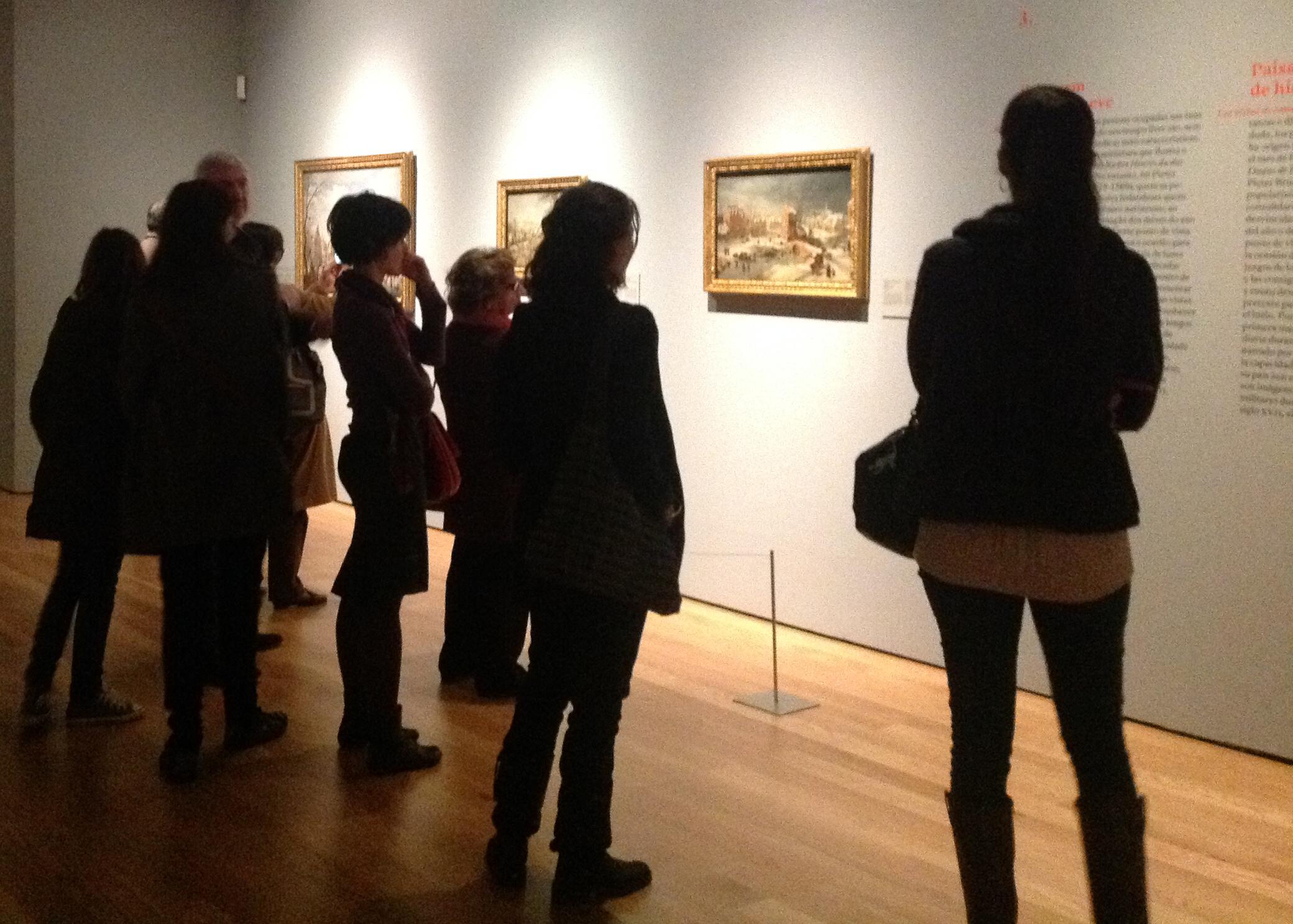 """Exposição """"Rubens, Brueghel, Lorrain"""": público"""