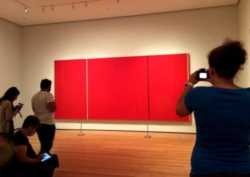 Utilização de recursos de Humanidades Digitais no Museum of Modern Art (MoMA) Foto: MIR, 2014.