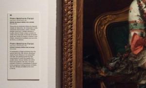 Legenda do Retrato de Antonio Ghidini e família MNAA, exposição FMR Foto: MIR, 2015