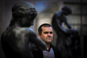 David Santos, no Museu do Chiado