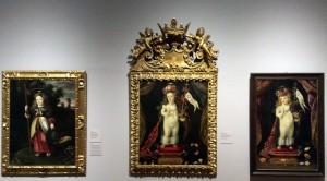 """Menino Jesus, Salvador do Mundo (3) Exposição """"Josefa de Óbidos..."""" Foto: MIR, 2015"""