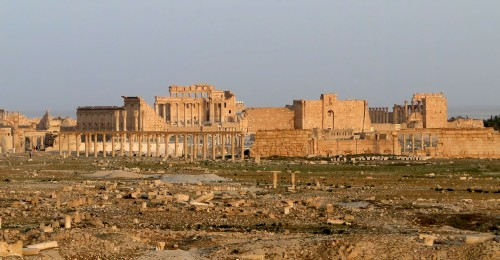 Templo de Bel Palmira, Síria Foto: Bernard Gagnon, 2010.