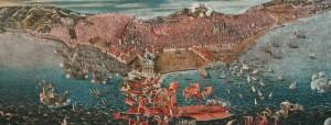 Joyeuse Entrée Autor desconhecido, 1613 Castelo de Weilburg Foto: Museu Nacional de Arte Antiga