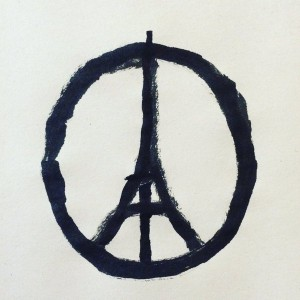 Peace for Paris Jean Julien, 2015 @jean_jullien