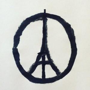 Peace for Paris Jean Julien, 2015 @jean_jullien