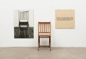 One and Three Chairs Joseph Kosuth, 1965 Nova Iorque, Museum of Modern Art (MoMA).