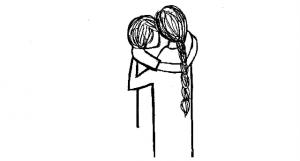 "Campanha ""A hug is promised from Marina Abramović"" Imagem: Marina Abramović Institute (MAI), 2013"