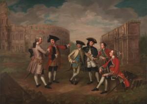 British gentlemen in Rome Katharine Read, ca.  1750 Yale Center for British Art, Paul Mellon Collection