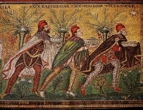 Epifania Autor desconhecido, século VI, 1.º quartel Ravena, Igreja de Santo Apolinário o Novo