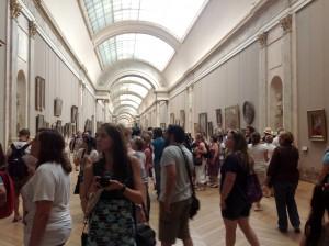 Grande galerie Paris, musée du Louvre Foto: MIR, 2013