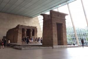 Templo de Dendur, no MET Foto: MIR, 2014.