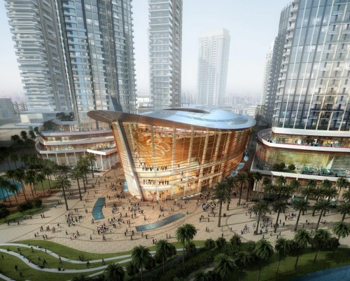Dubai Opera House Zaha Hadid, 2016