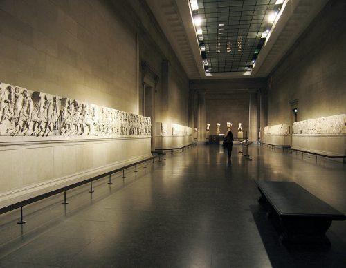 Friso do Pártenon Duveen Gallery, British Museum Foto: Andrew Dunn, 2004