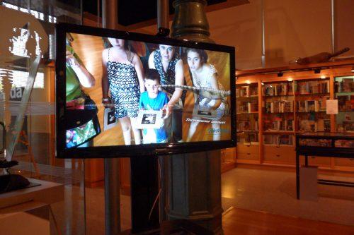 Jogo interativo no Museo Nacional de Ciencias Naturales, Madrid Foto: MIR, 2012