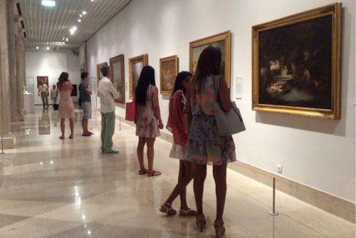 Público no piso 3 Lisboa, Museu Nacional de Arte Antiga Foto: MIR, 2016