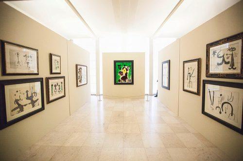 """Exposição """"Joan Miró: Materialidade e Metamorfose"""" Porto, Serralves Foto: Adriano Miranda / Público, 2016"""