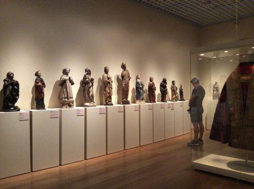 """Exposição """"O museu que vamos deixar de ver"""": núcleo 1 Lisboa, Museu Nacional de Arte Antiga Foto: MIR, 2016"""