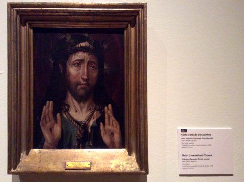 Cristo coroado de espinhos Autor hispânico-flamengo desconhecido, século XVI Lisboa, MNAA