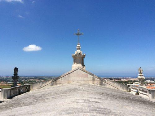 Basílica de Mafra: vista da cobertura Foto: MIR, 2016