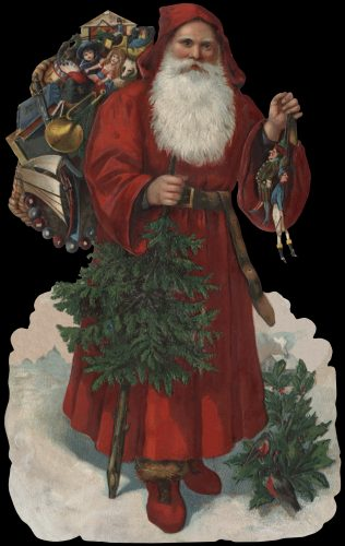 São Nicolau, ou Santa Claus (Sinter Klaas) Autor desconhecido, c. 1880