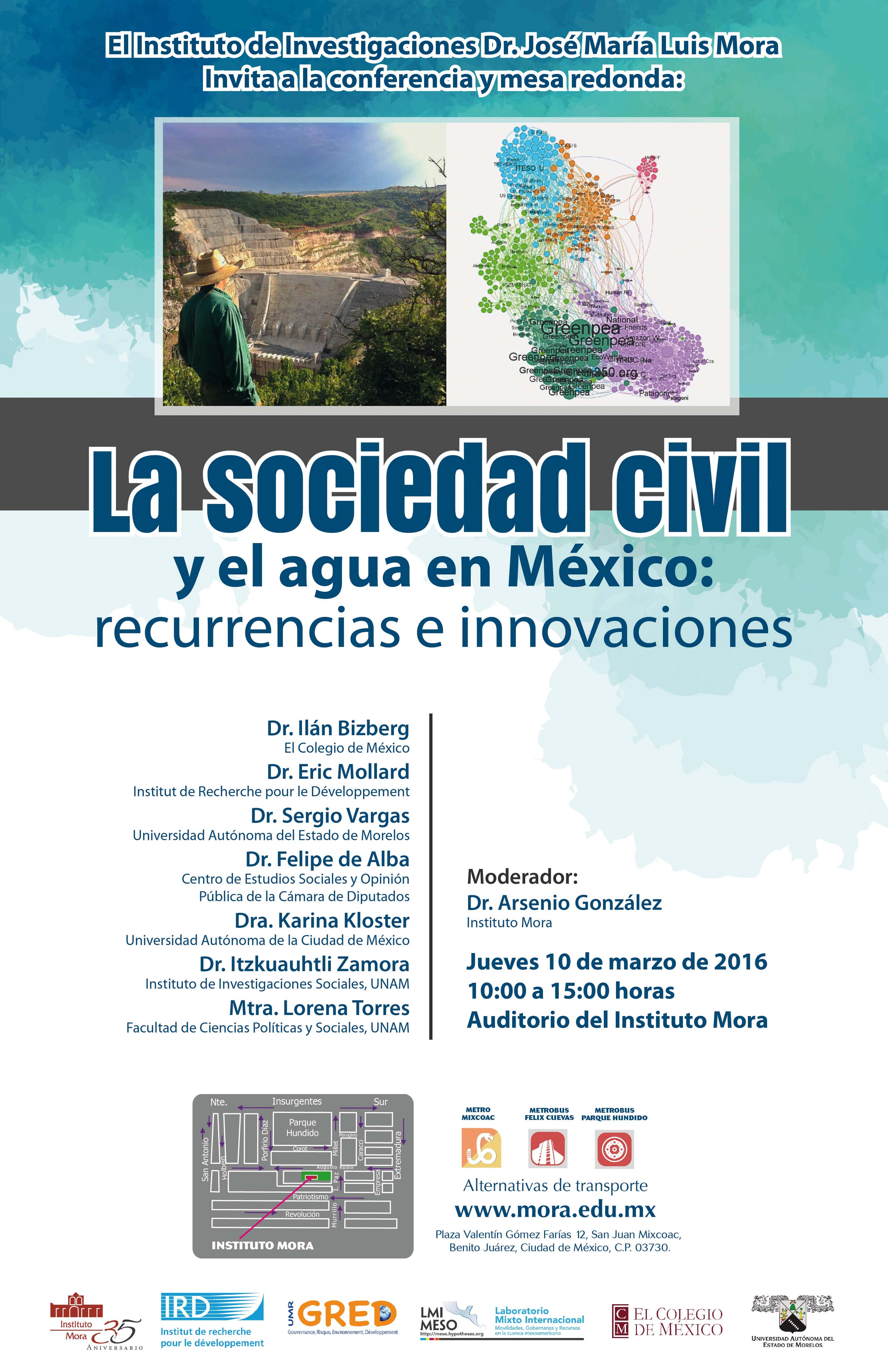 Cart- La sociedad civil y el agua
