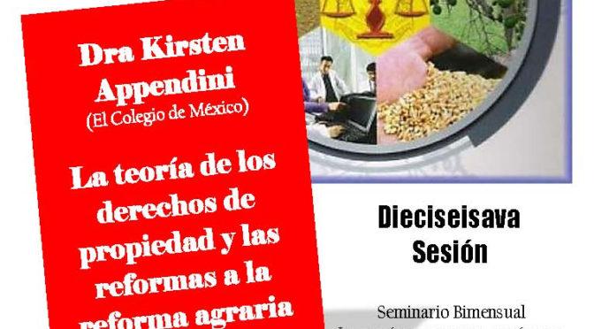 """Seminario bimestral """"Lo común, lo privado, lo público. Dinámicas de los derechos de propiedad en México y América Central, siglos XIX-XXI"""""""
