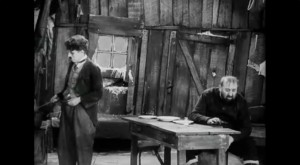 """Extrait de """"The gold Rush"""" de Charlie Chaplin (1926) in """"Résistance Naturelle"""" (00:57:19)"""