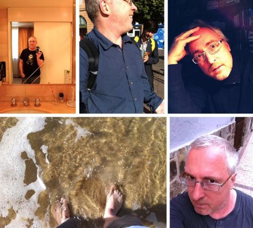 """Montage effectué par André Gunthert de différents types d'occurrences de """"selfies"""""""