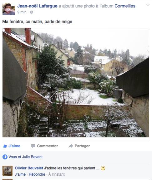 Jean Noël Lafargue, partagée le 5 mars 2016.