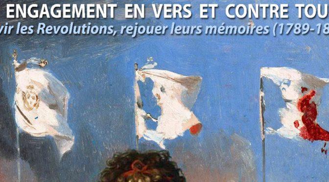 """Journée d'étude """"Un engagement en vers et contre tous ?"""", Clermont-Ferrand, 23 mars 2018"""
