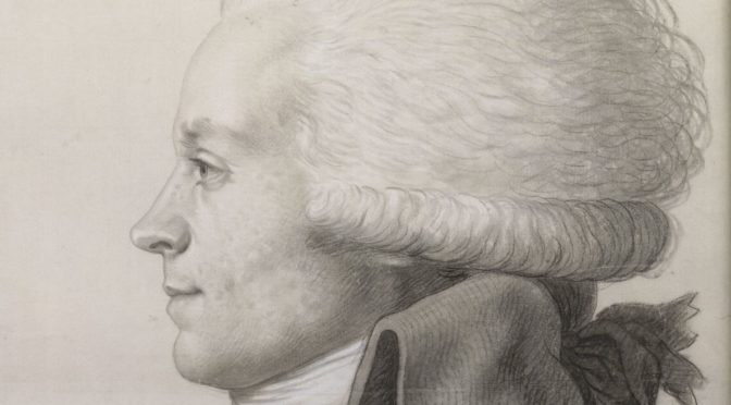 """Nos membres publient : Hervé Leuwers, """"Robespierre, l'homme derrière les légendes""""."""