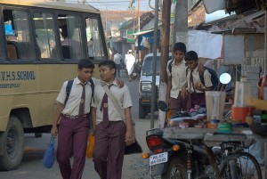 School Boys, Cochin, Kerala, India
