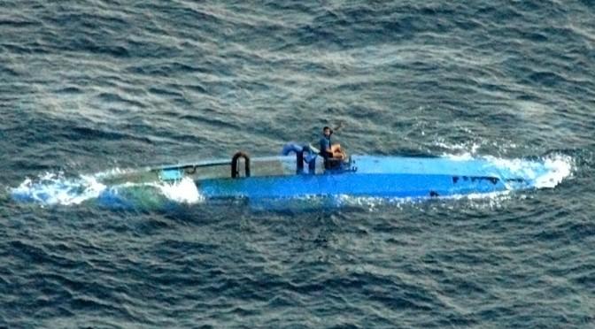 La lutte contre les narco sous-marins
