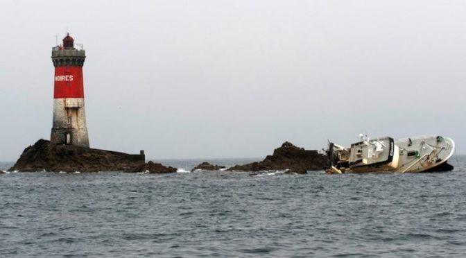 Échouement, naufrage et coûts de dépollution de l'épave