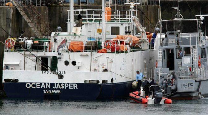 Retour sur l'abordage Ocean Jaspers – Sokalique, 17 août 2007