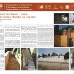 Renaissance du Pisé en Tunisie: une petite maison blanche au Cap Bon. LADJILI, Karim