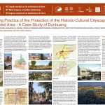 The guiding practice of the protection of the historic-cultural cityscape in the desertificated area - A Case Study of Dunhuang, a well-known Chinese historic-cultural city MAN XIN ; ZHANG YANG ; ZHANG JIE ; XU XIANGRONG