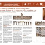The use of photogrammetry in the recording of the Ancient Mosque in Mhamid El Ghezlane, Southern Morocco. GONZALEZ A., GORRIZ R., TAUS I., DOMINGUEZ O., GARCIA A.