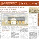 Conception intégrée du pôle interentreprise de construction terre crue en Bretagne. LE PAIH Amélie, MAETZ Ghislain, MAETZ Yoann