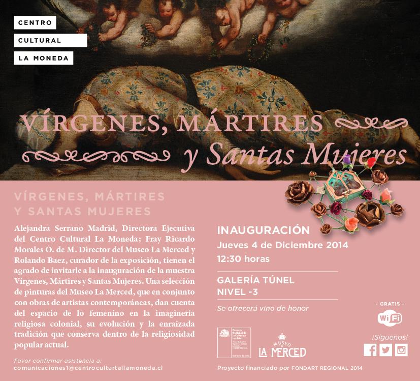 Exposición CCPLM arte religioso en femenino