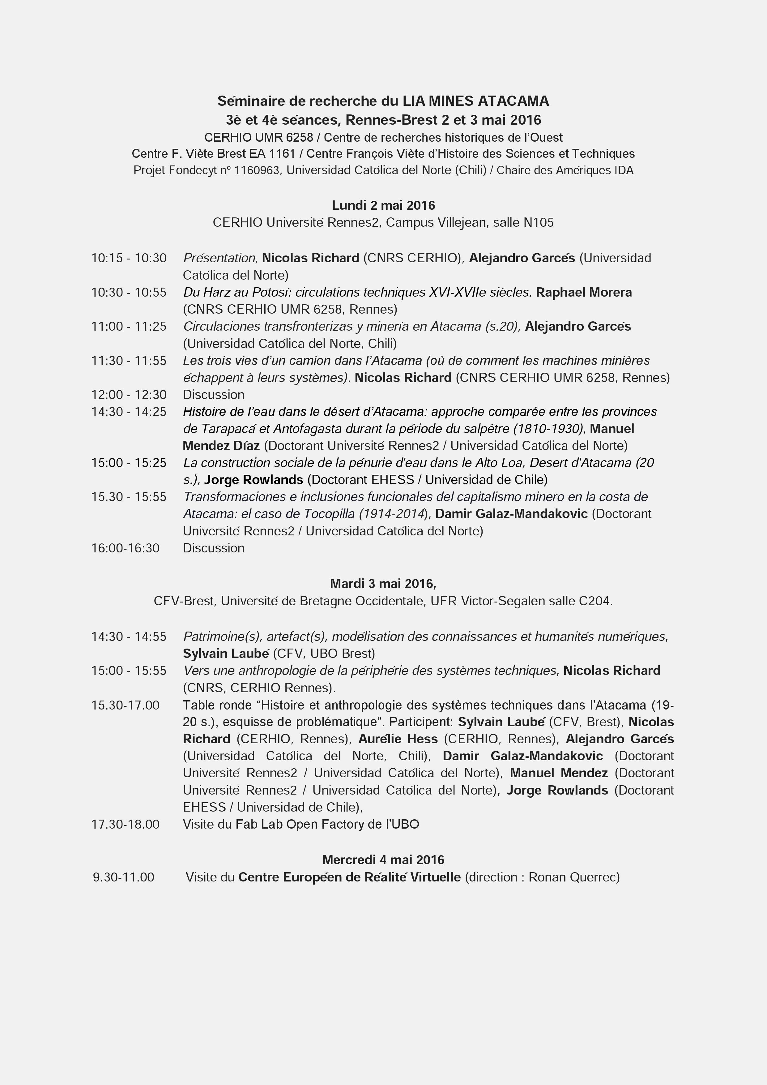 seminario LIA mai 2016