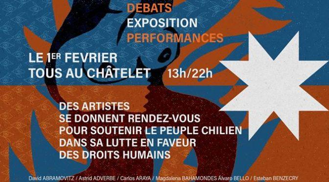 Paris-O1 février: Chili/ Arts en résistance