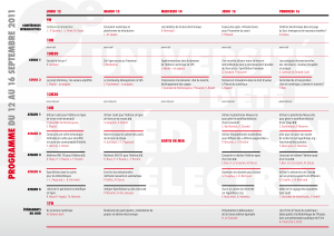 Programme de l'université d'été de l'édition électronique ouverte