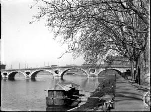 Le Pont Neuf vu depuis le quai de Tounis, Toulouse