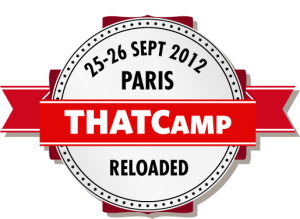 THATCamp Paris, 25-26 septembre 2012