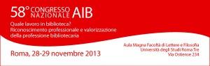 58° Congresso Nazionale AIB