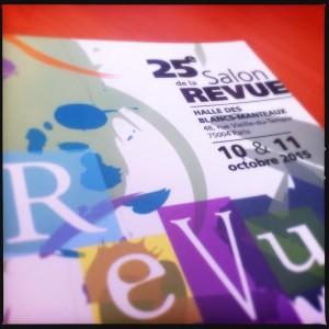 25e Salon de la revue en SHS