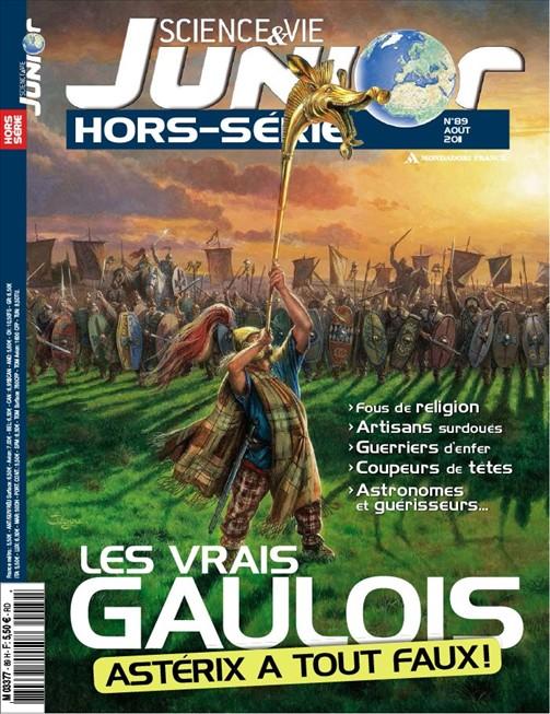 Couverture Hors-Série Sciences & Vie Junior août 2011