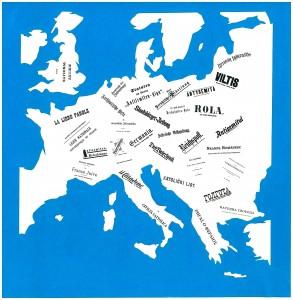 U W  Antisemitische Schriften und Blätter in Europa
