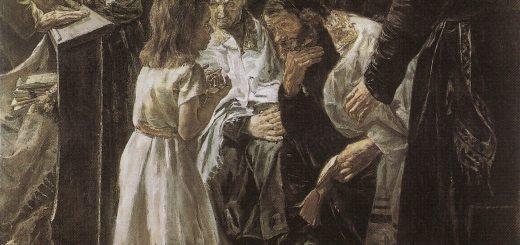Max Liebermann, Der zwölfjährige Jesus im Tempel,